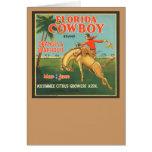 Florida Cowboy Card