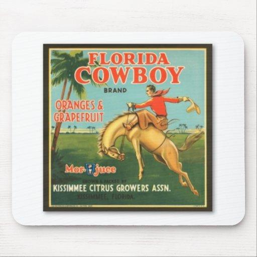Florida Cowboy Mouse Pad