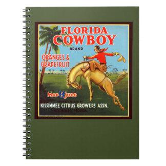 Florida Cowboy Notebook