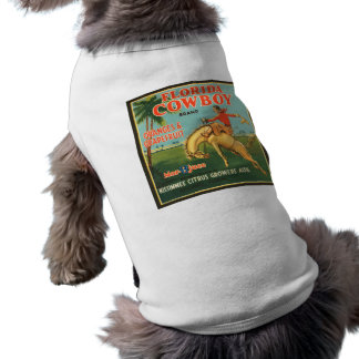 Florida Cowboy Oranges & Grapefruit Vintage Ad Pet Clothing