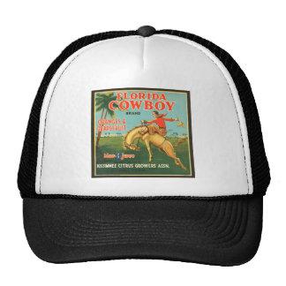 Florida Cowboy Oranges & Grapefruit Vintage Ad Hat