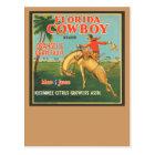 Florida Cowboy Postcard