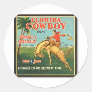 Florida Cowboy Stickers
