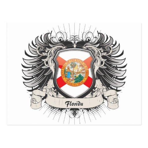 Florida Crest Postcard