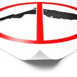Florida Cross Out Symbol Photograph
