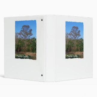 Florida Cypress Swamp Vertical Binders