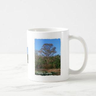 Florida Cypress Swamp Vertical Classic White Coffee Mug