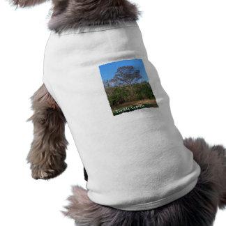 Florida Cypress Swamp Vertical Dog T-shirt