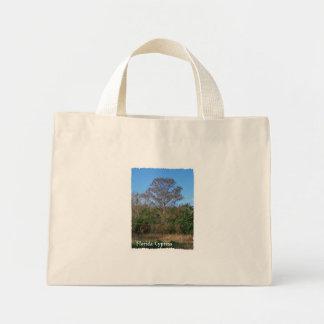 Florida Cypress Swamp Vertical Mini Tote Bag