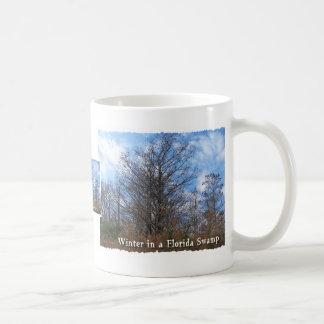 Florida Cypress Swamp Winter scene Mug