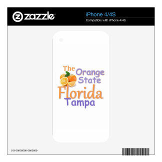 FLORIDA DECAL FOR iPhone 4