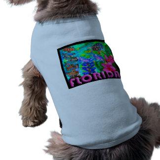 Florida Doggy Style Dog T-shirt