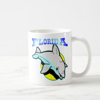 Florida Dolphin Sun Coffee Mug