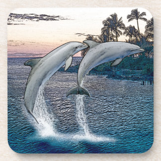 Florida Dolphins Beverage Coaster