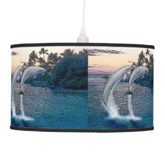 Florida Dolphins Hanging Lamp