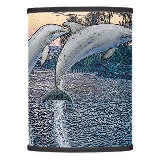 Florida Dolphins Lamp Shade