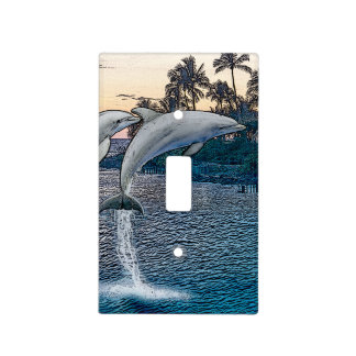 Florida Dolphins Light Switch Cover