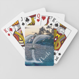 Florida Dolphins Playing Cards