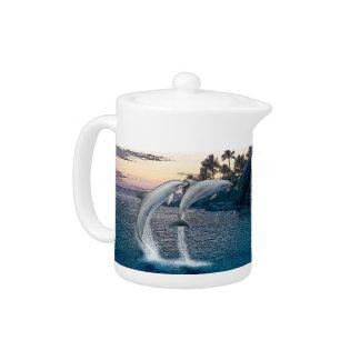 Florida Dolphins Teapot