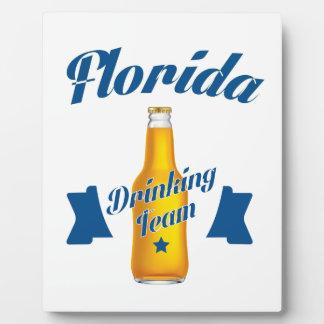 Florida Drinking team Plaque