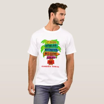 Florida East Coast Road Sign T-Shirt