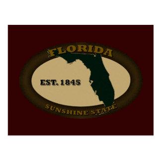 Florida Est. 1845 Postcard