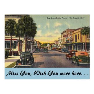 Florida, Eustis Postcard