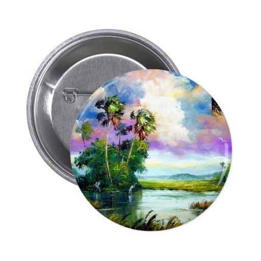 Florida Everglades Wind Pin