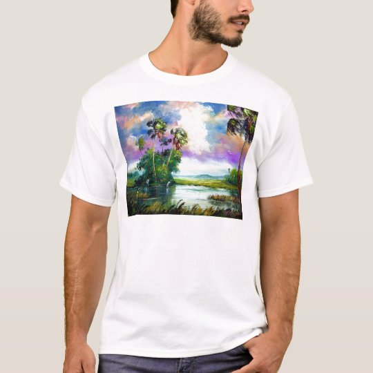 Florida Everglades Wind T-Shirt