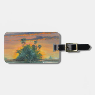 Florida Fire Sky -  Last Days of May Luggage Tag