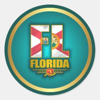 Florida (FL) Classic Round Sticker