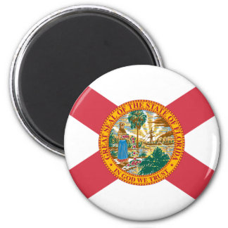 Florida Flag 2 Inch Round Magnet