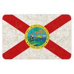 FLORIDA FLAG AGED Magnet Magnet