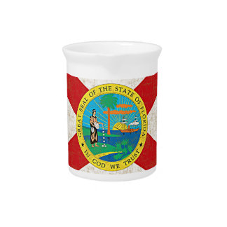FLORIDA FLAG AGED Pitcher
