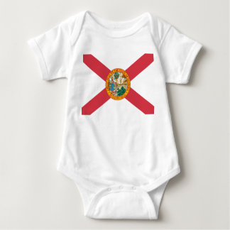 Florida Flag Baby Bodysuit
