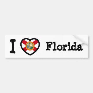 Florida Flag Bumper Sticker