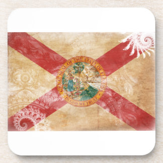 Florida Flag Drink Coasters