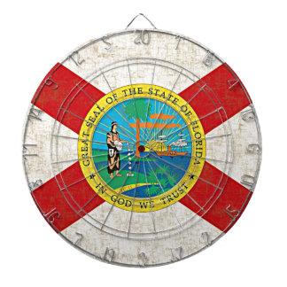 FLORIDA FLAG Dart Board