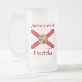Florida Flag Map City Mug