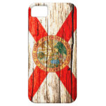 Florida Flag old wood iPhone 5 Covers