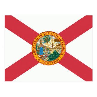 Florida Flag Postcard