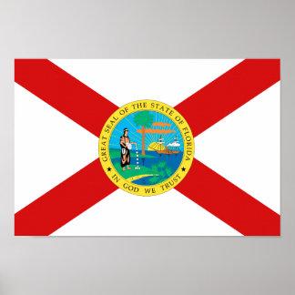 FLORIDA Flag - Poster
