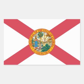 Florida Flag Rectangle Stickers
