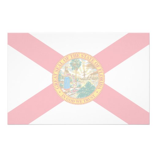 Florida Flag Stationery Paper