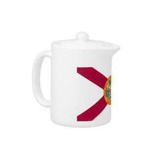 Florida Flag Teapot