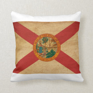 Florida Flag Throw Pillow