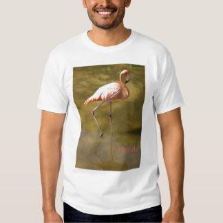 Florida Flamingo Art T-shirt