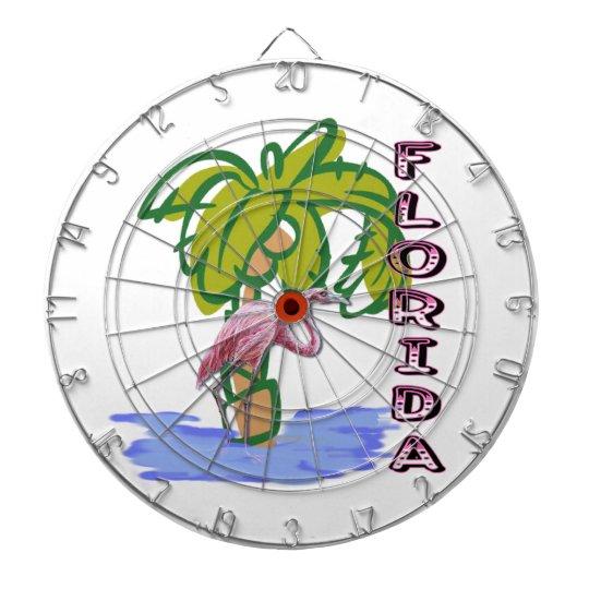 Florida Flamingo Dartboard