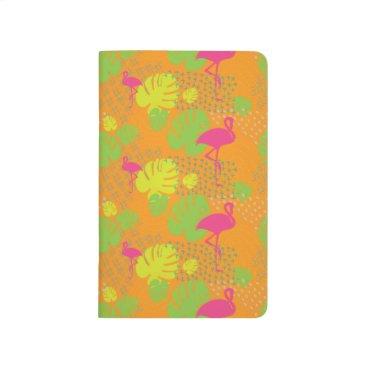 Beach Themed Florida Flamingo Pocket Journal