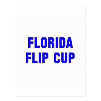 Florida Flip Cup Postcard